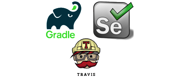 Selenium tests on Gradle in Travis