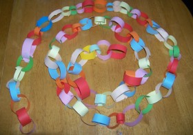 Paper Chain decoration