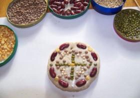 Flour Mandala