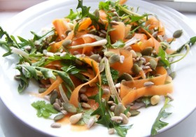 Dandelion and Parsley salad