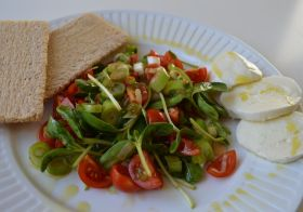 Sunflower Sprouts Salad